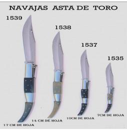 Navaja Árabe Asta de Toro...