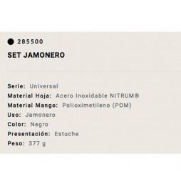 Set Arcos cuchillo Jamonero...