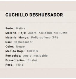 Cuchillo Arcos Deshuesador...