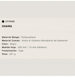 Chaira Arcos 23/1cm