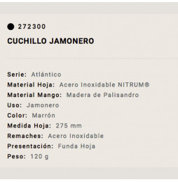 Cuchillo Arcos Jamonero...