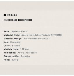 Cuchillo Arcos Cocinero...